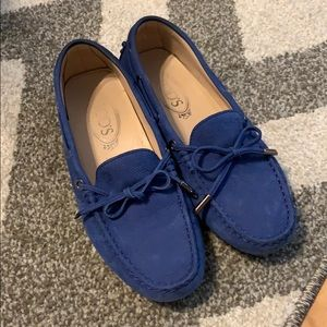 Tod's gommini blue
